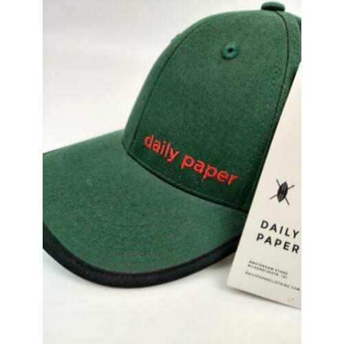 Daily Paper Strap Cap Dark Green
