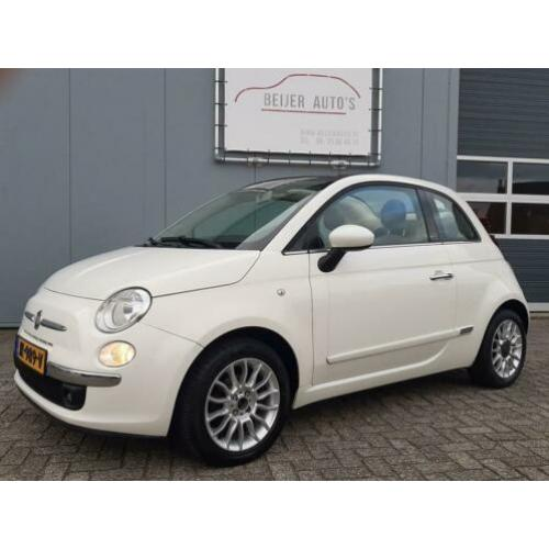 Fiat 500C 1.2 Lounge Cabriolet/Airco/15inch/PDC achter.