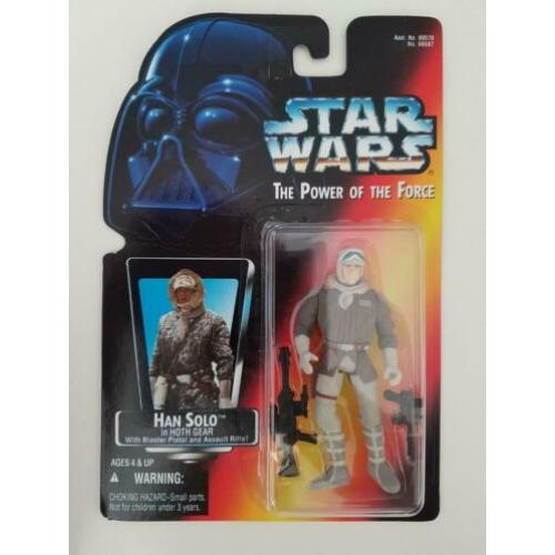 -40% Star Wars POTF Red Photo Han Solo in Hoth Gear