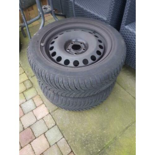 Winterbanden set 5x110 goodyear