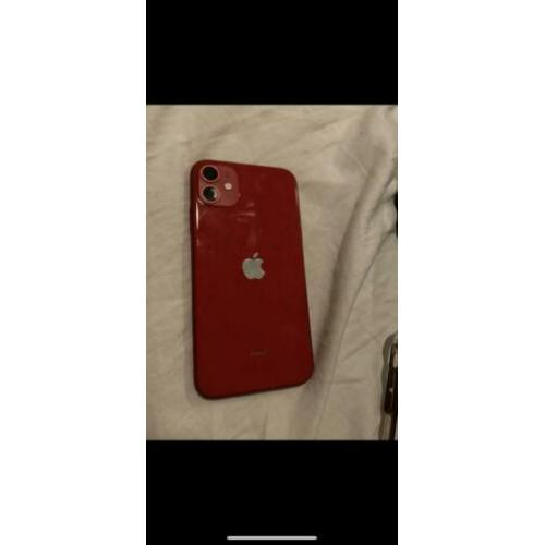 Iphone 11 rood 128gb