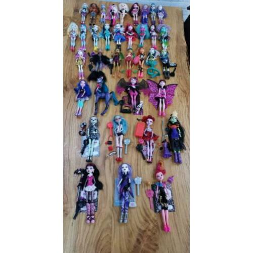 Monster high poppen