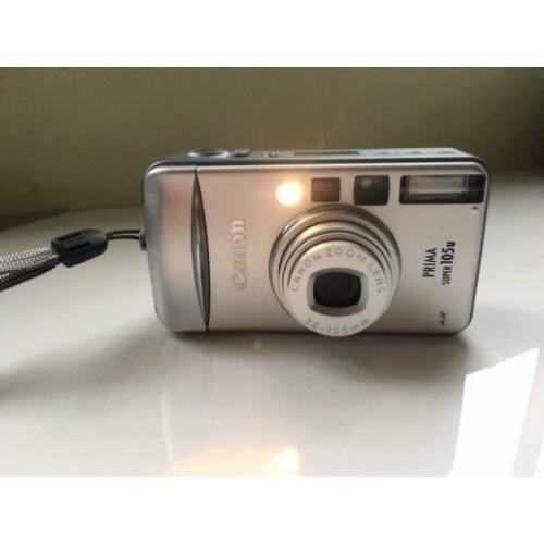 Canon Super 105u Point & Shoot Camera