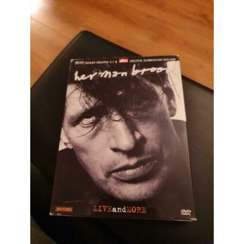 Herman Brood Live and more (3 DVD), WDR , prima staat.