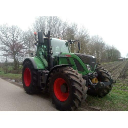 Fendt 724 S4 Profi Plus - tractor (bj 2015)