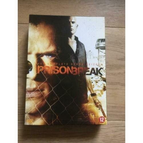 Prison Break, complete 3e seizoen luxe dvd box