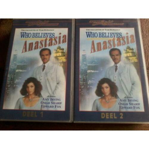 VHS Video Serie Anastasia op 2 Video Banden ( Jola )