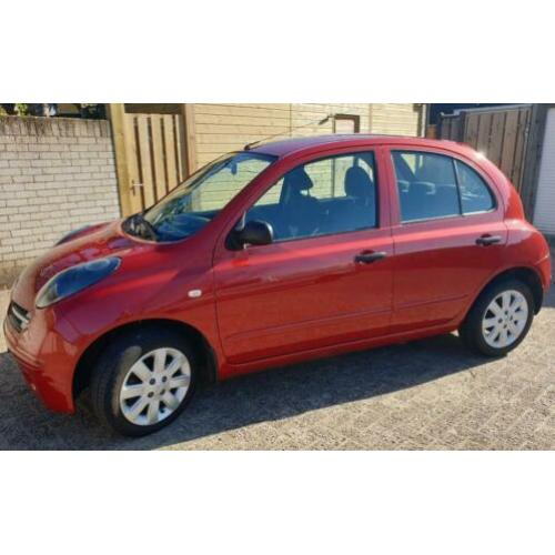 Nissan Micra 1.2 59KW 5DR 2007 Rood
